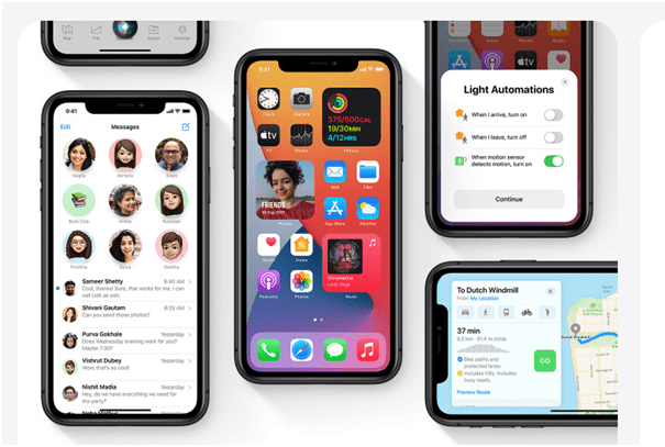 The iPhone iOS 14 compatibility