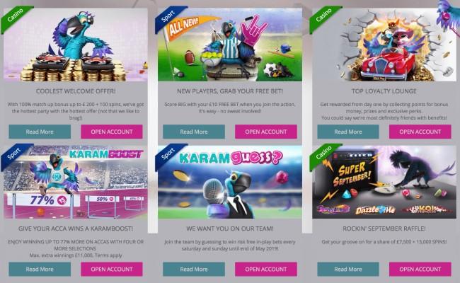 User Experience - Karamba Casino
