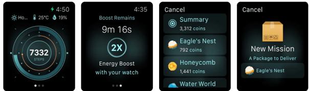 Walkr app