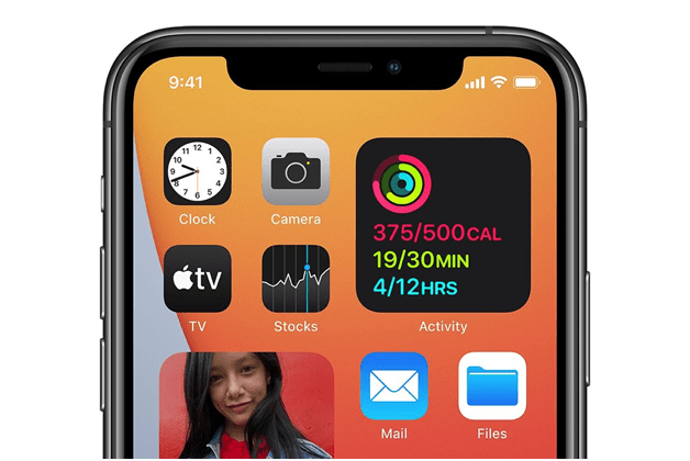 What are some of the outstanding new features of iOS 14- Home