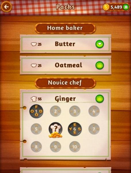 Word Cookies Game app