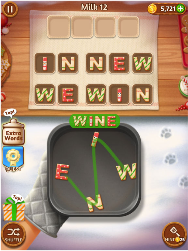 Word Cookies Game app