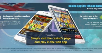 Top 5 iOS Compatible Mobile Casinos