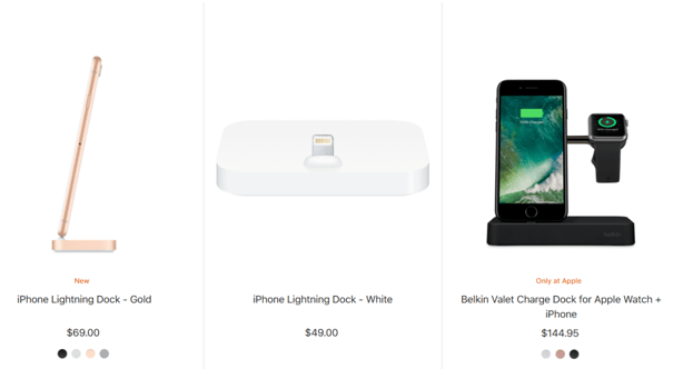iPhone X- Lightening Dock