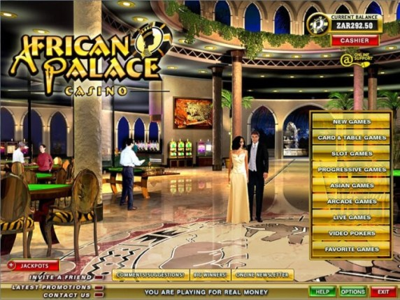 African Palace casino Games