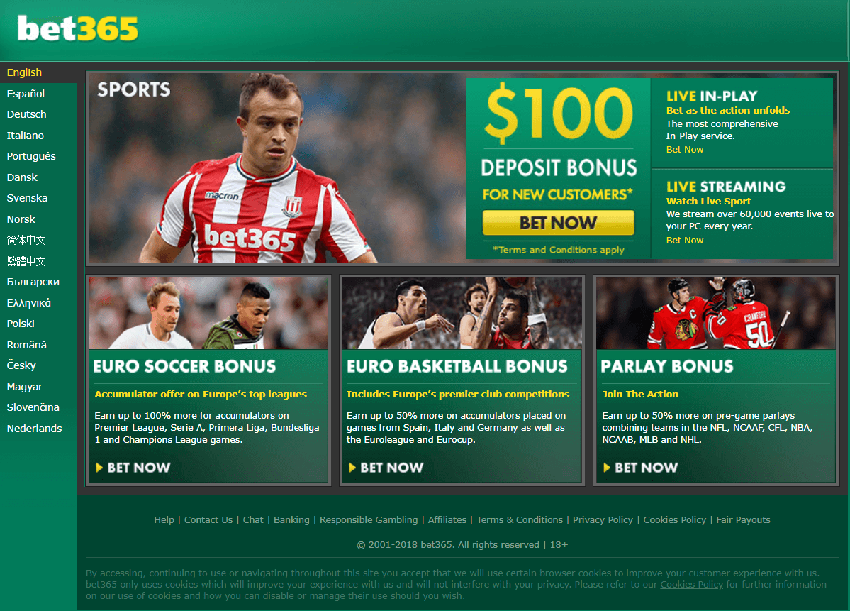 Sportsbetting at SA online casino to play in Rand