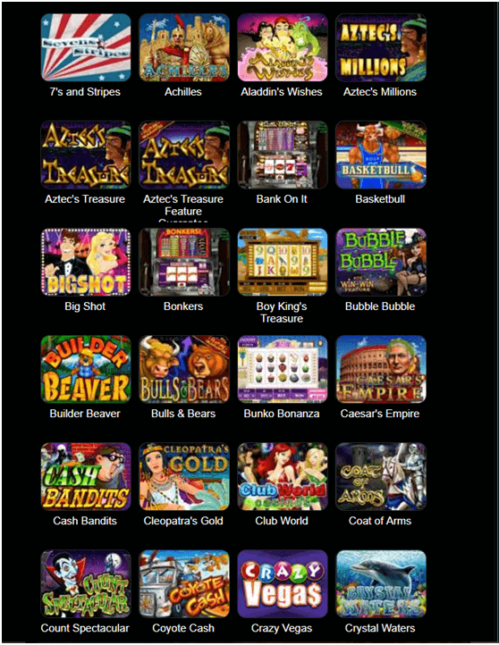 Club SA Casino Games