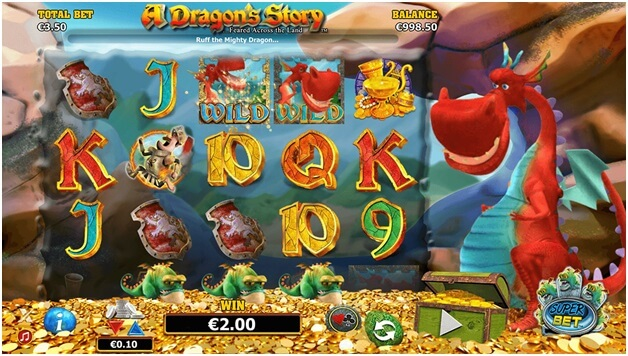 Dragon story scratch