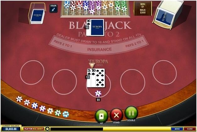 Europa Casino Blackjack