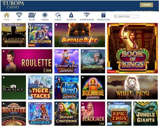 Europa Casino Download