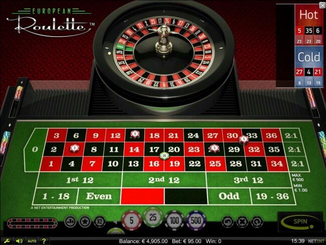 How Do I Bet in European Roulette