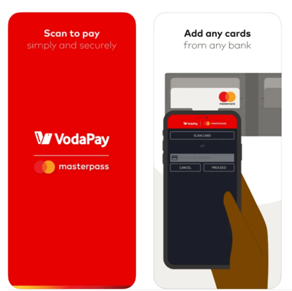 How does Vodapay app works