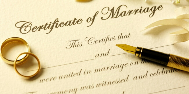 Marriage-Certificates
