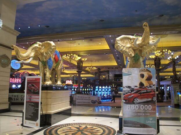 Elephants Golden