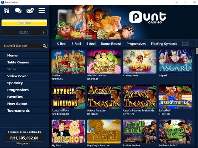 Punt-Casino for Windows phone