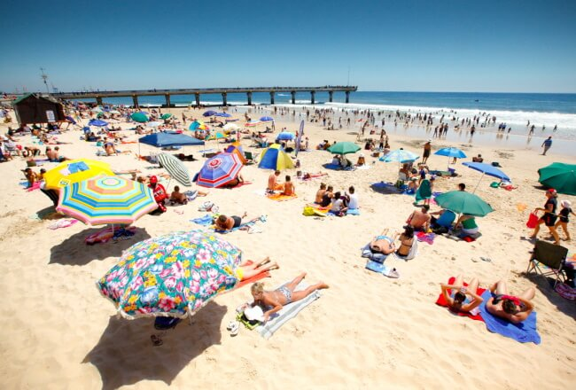 Relax on the City's Blue Flag Beaches