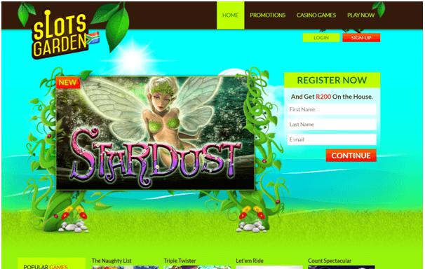 Slots Garden Casino Games to play