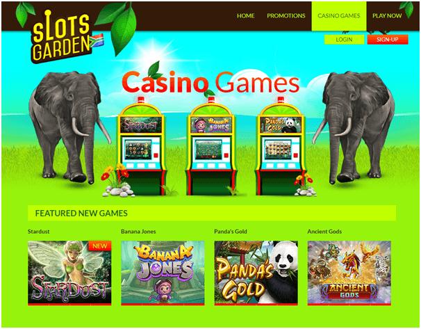 Slots Garden Casino Games