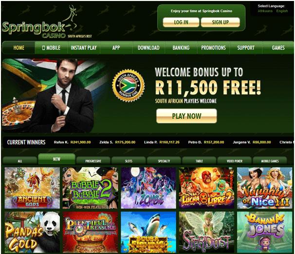 Springbok casino SA
