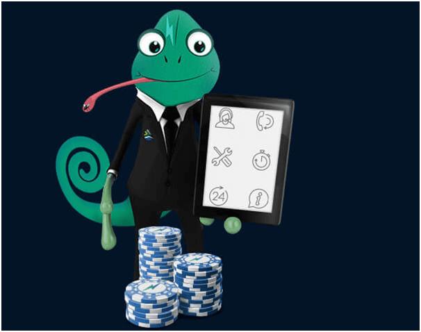 Thunderbolt casino Mascot