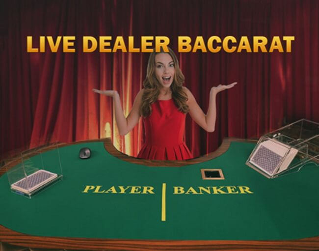 Why would players play live dealer baccarat