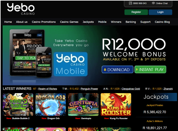Yebo Casino SA