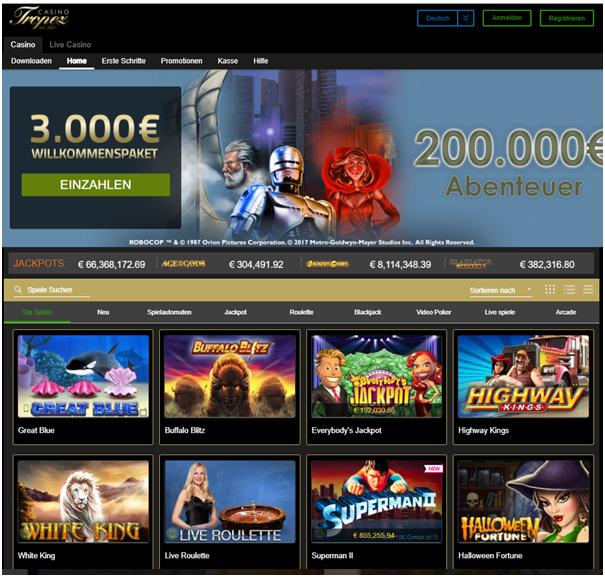 Casino Tropez kasino