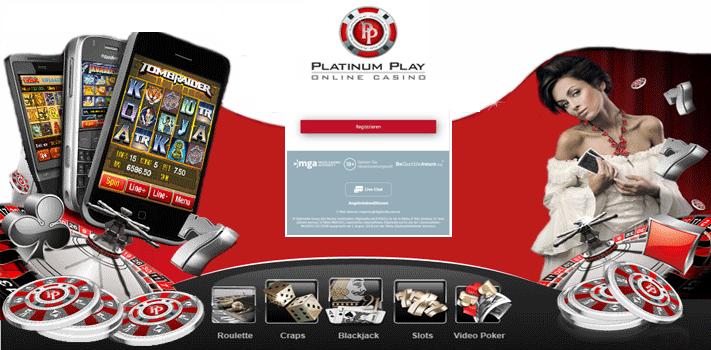 Das Platinum Play Online Casino bietet 24,7 Hilfe