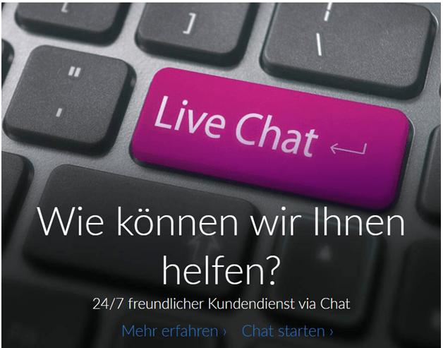 Der Support für Kontakte ist im Ruby Fortune Casino rund um die Uhr in deutscher Sprache verfügbar