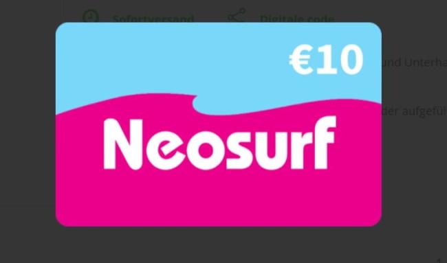 Neosurf-Zahlungssystem - Ist es für das Casino sicher