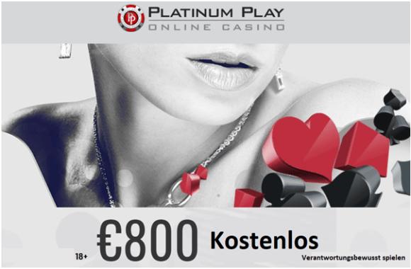 Platinum Play Casino Willkommensbonus