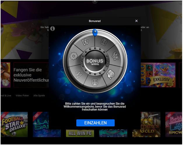 Spin Casino bietet einen 100% Willkommensbonus als neuer Spieler