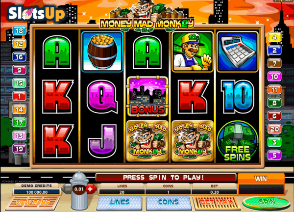 Money Mad Monkey Slot Machine Online ᐈ Microgaming™ Casino ...