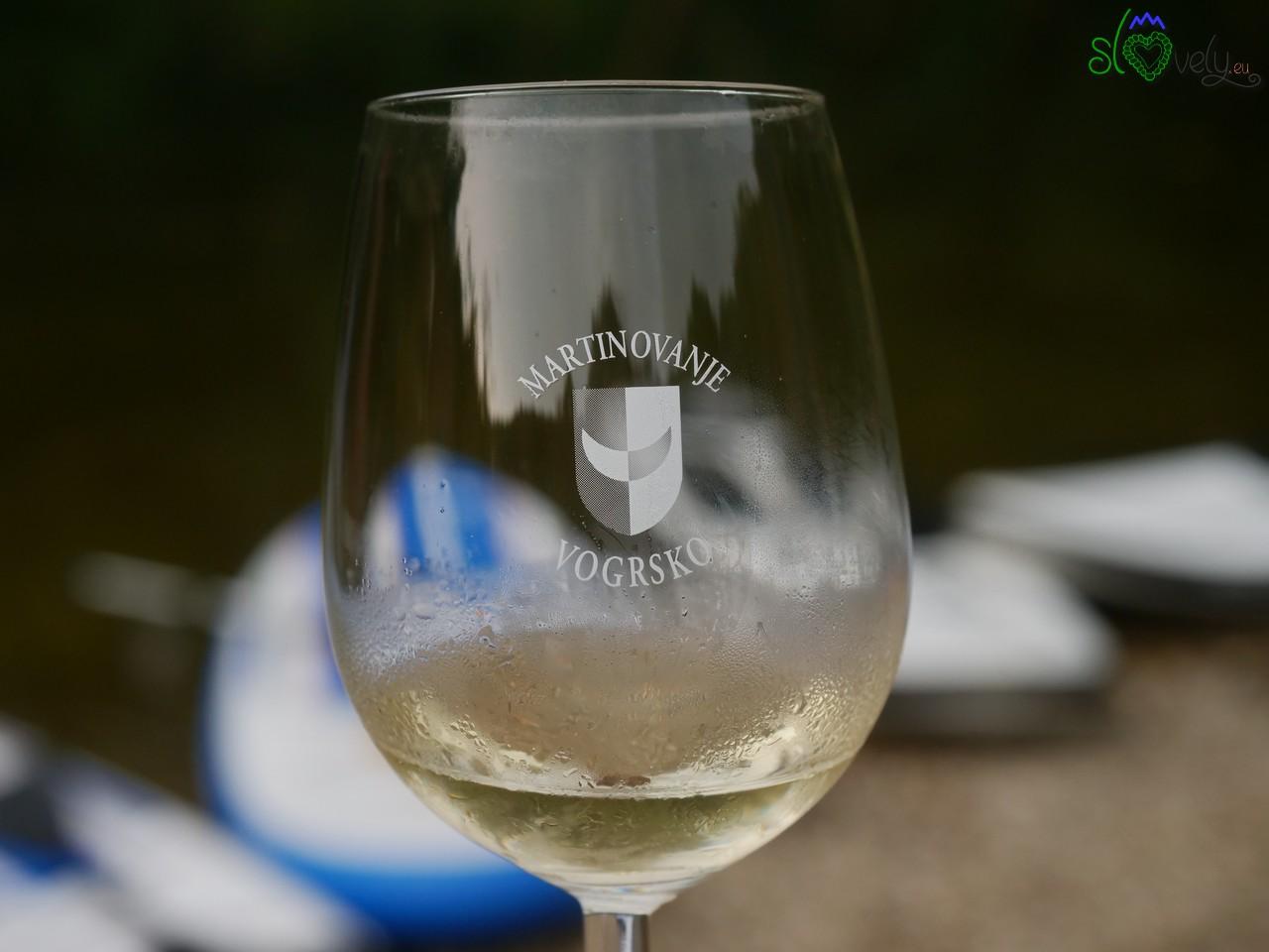 Dopo tanto sport ci vuole un buon bicchiere di vino!