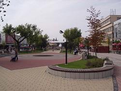 Zentrum von Michalovce