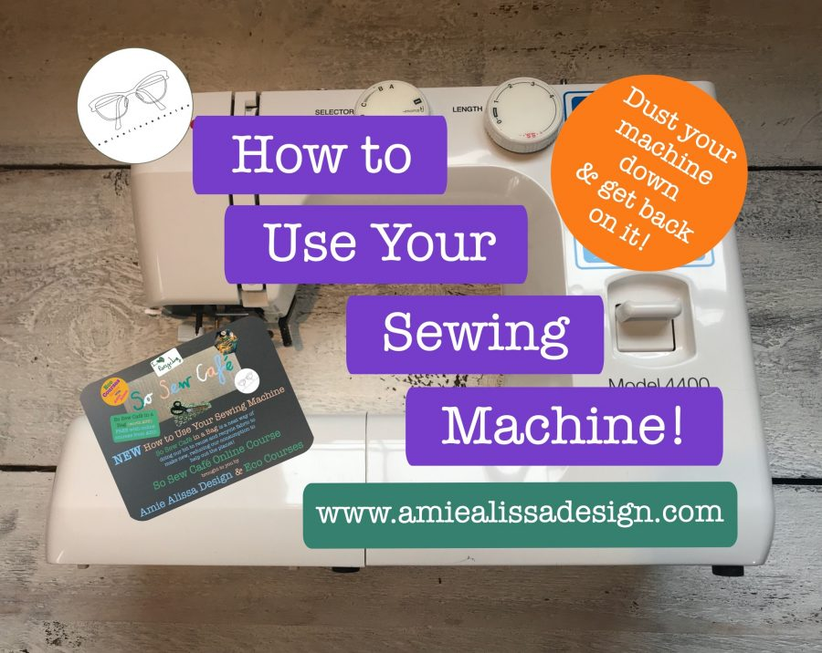 How to use your sewing machine!