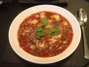 Chilli con carne Soup