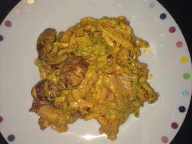 Chicken-Chorizo-Pasta