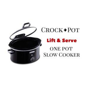 CROCK-POT LIFT & SERVCE ONE POT SLOW COOKER