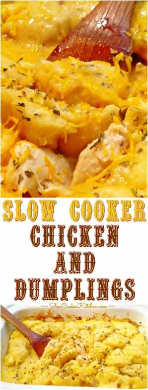 quick and easy slow cooker chicken dumplings