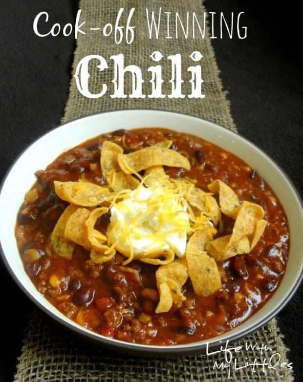 Cook Off Winning Crockpot Chili