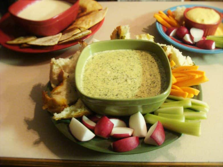 Crock Pot Spinach Dip! Find this & more @ http://www.slowcookerkitchen.com