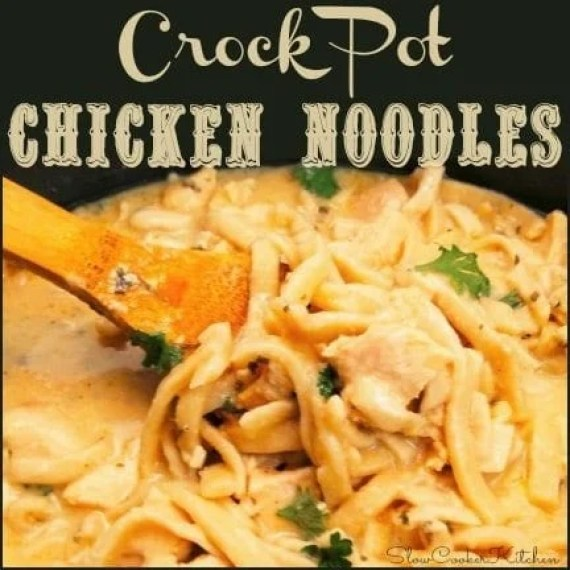 how to make chicken and noodles in crockpot