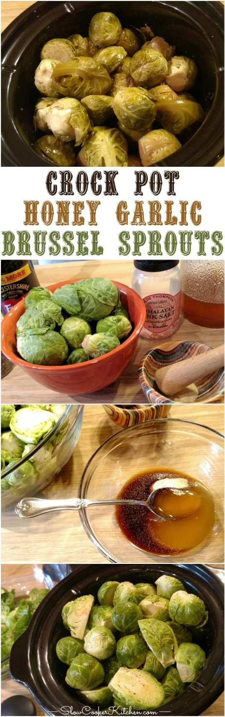 Slow Cooker Brussel Sprouts