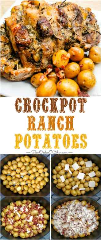 Find these easy crock pot ranch potatoes and a lot more like it @ http://www.slowcookerkitchen.com