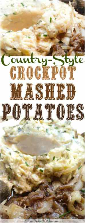 Country-Style Crockpot Mashed Potatoes