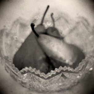 Pears in My Mother's Crystal Bowl © Amanda Smith