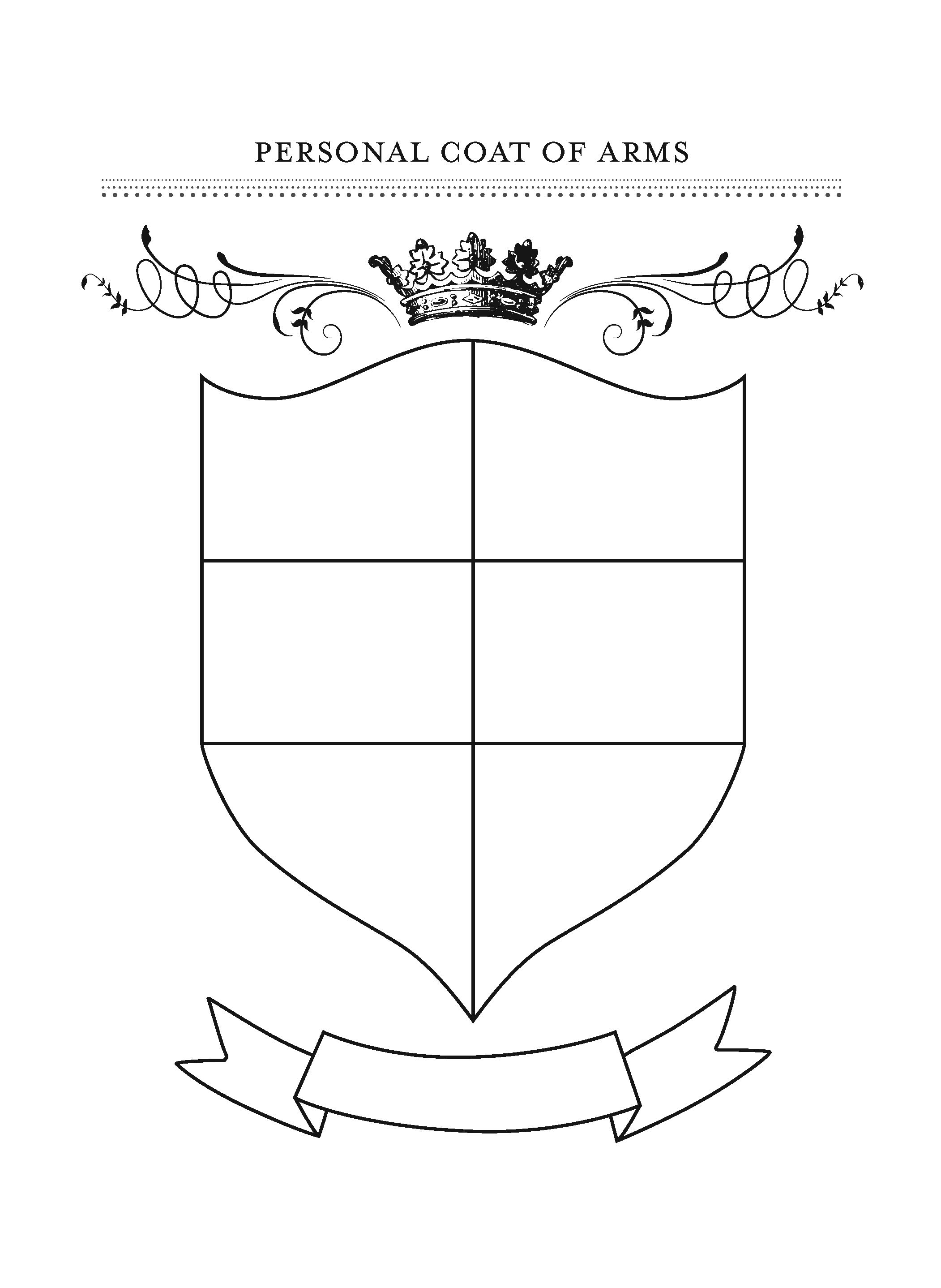 Recreation Therapy Ideas Personal Coat Of Arms