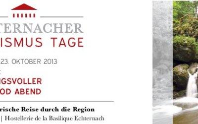 Eröffnungsveranstaltung der Ersten Echternacher Tourismustage