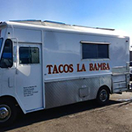 Food trucks like Tacos La Bamba serve some of the best as well as some of the least expensive Mexican food around.